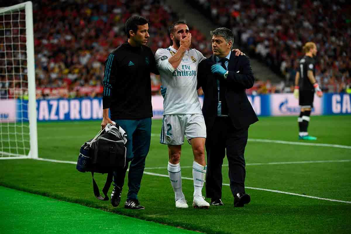 Carvajal lesión Kiev