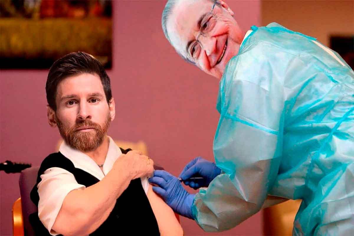 Florentino Messi vacuna