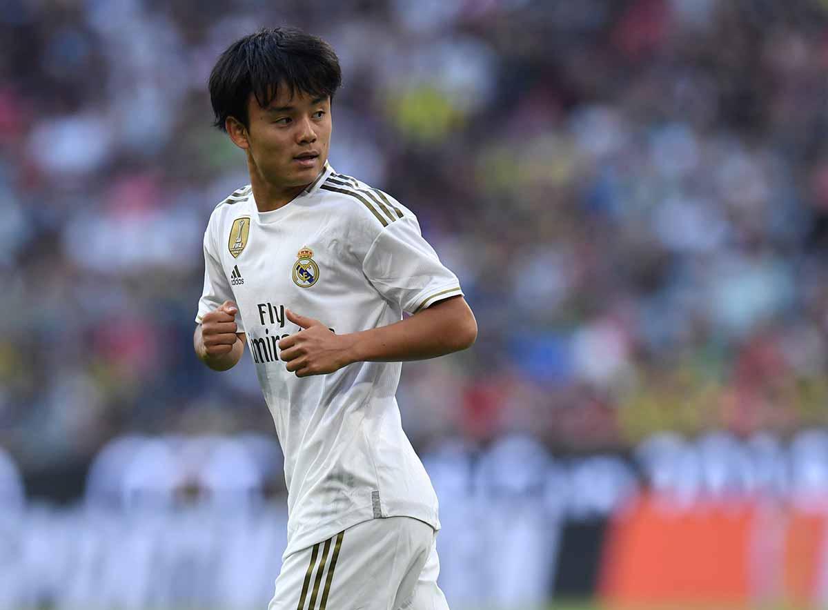 Take Kubo Real Madrid