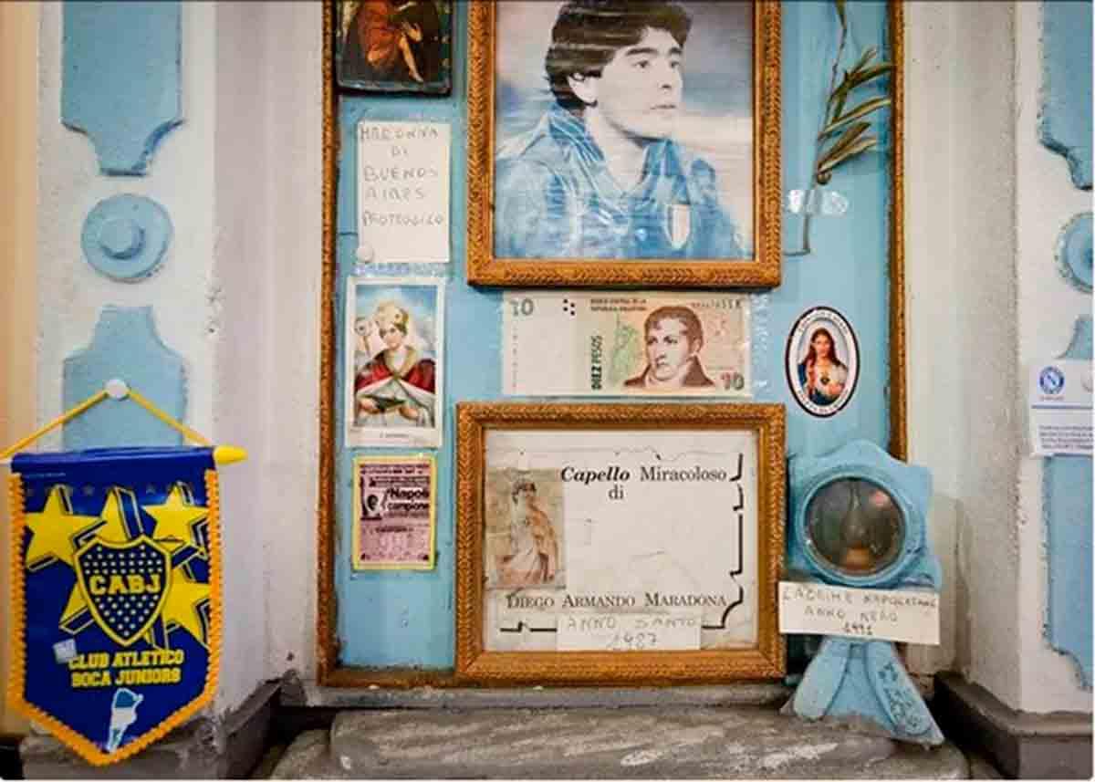 Maradona altar