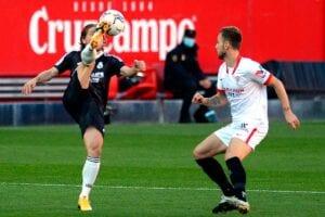 Las notas del Sevilla, 0 - Real Madrid, 1