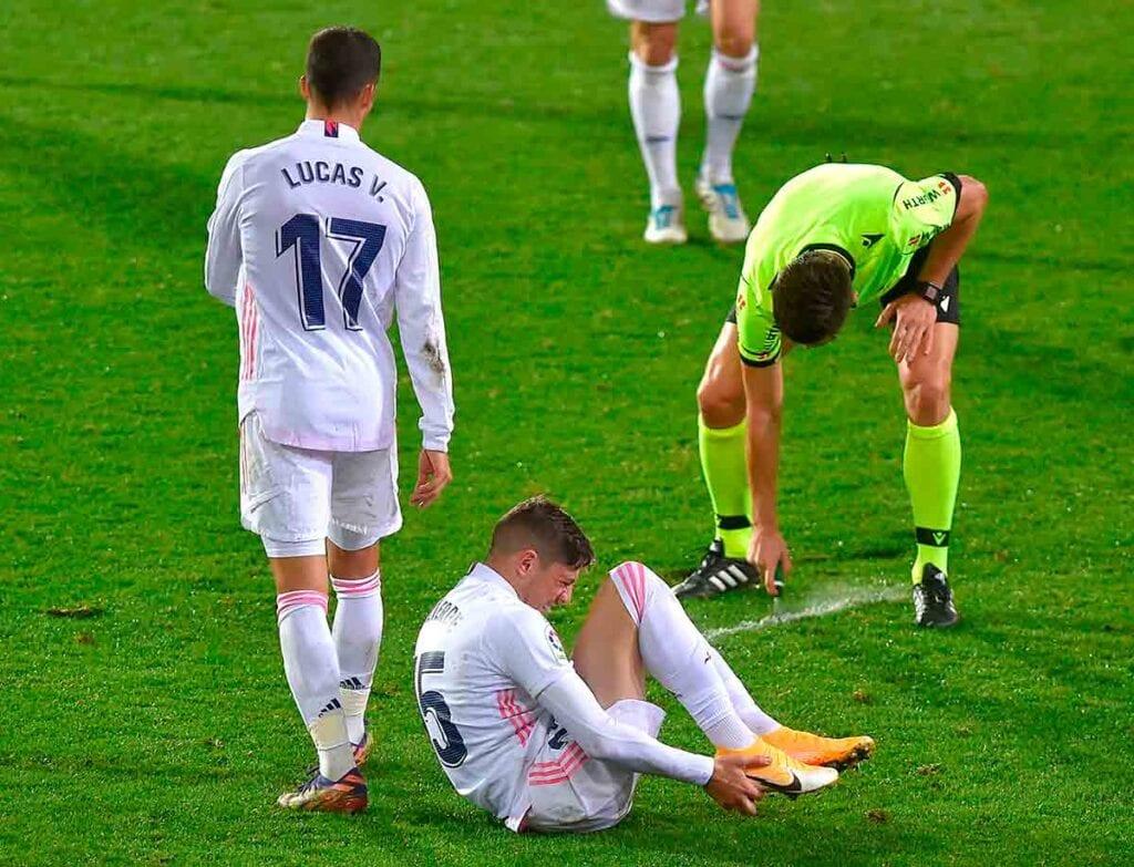 Munuera Montero en el Eibar - Real Madrid