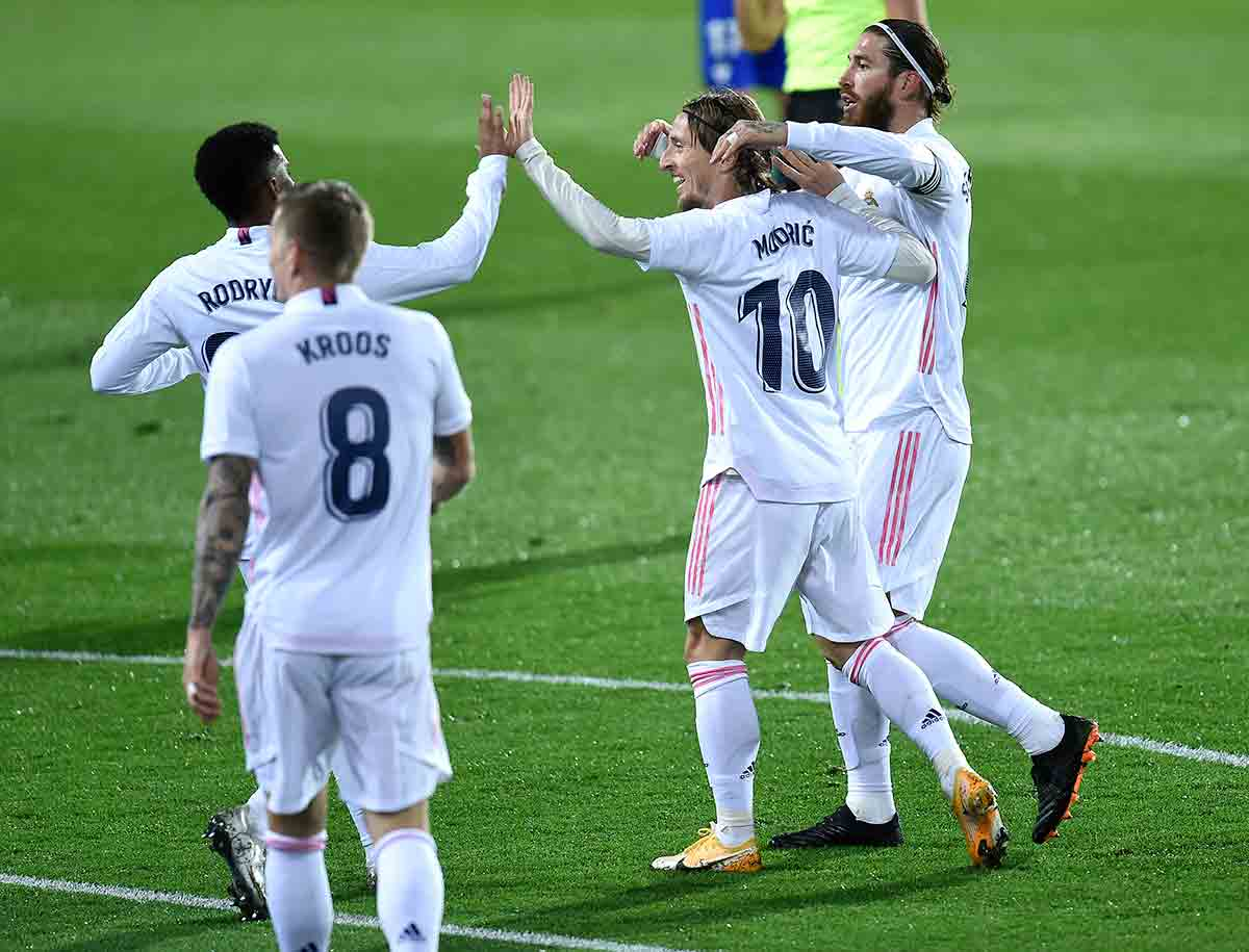 Eibar Real Madrid celebración gol