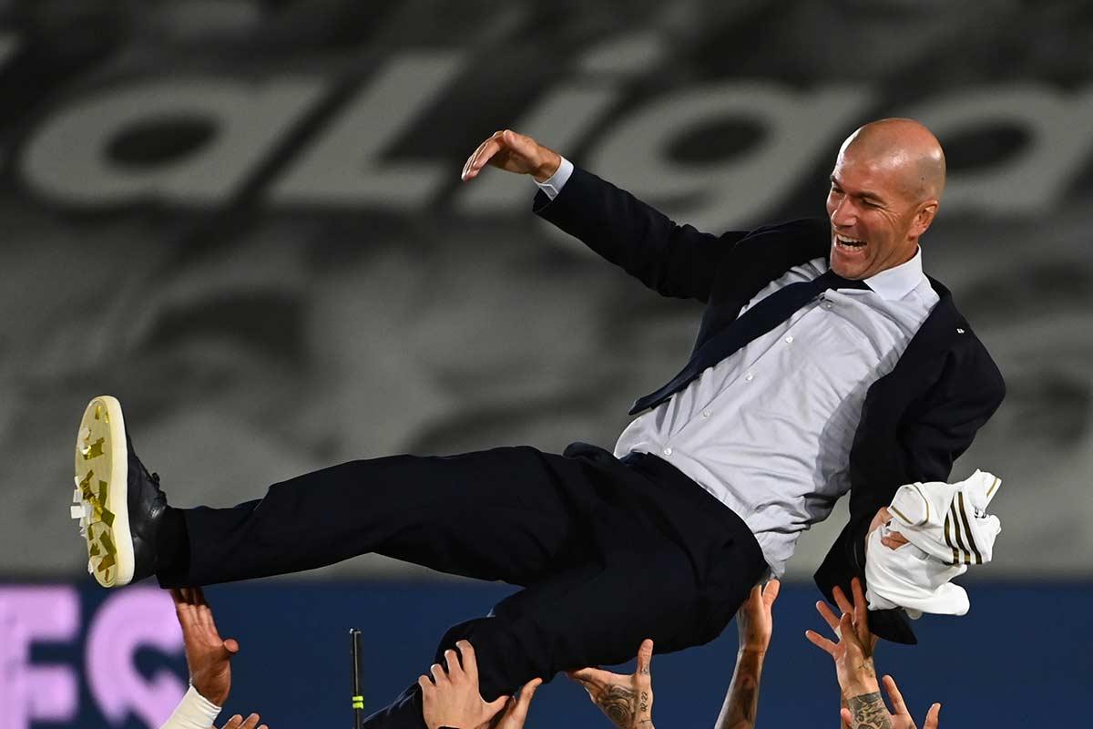 Zidane campeón Liga