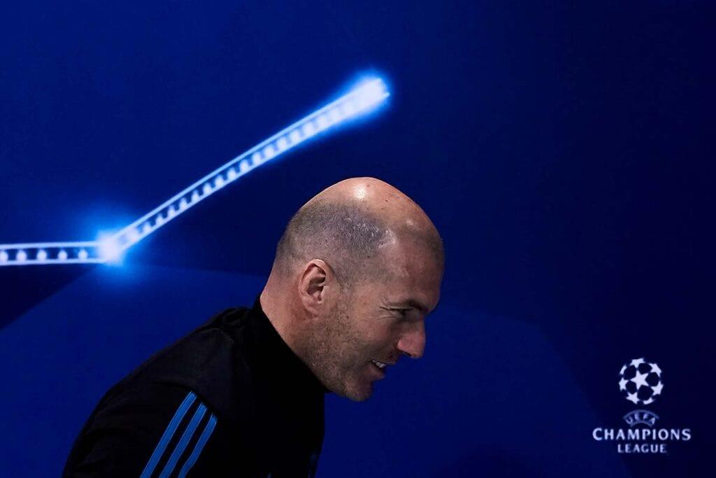 Los tres trabajos de Zidane