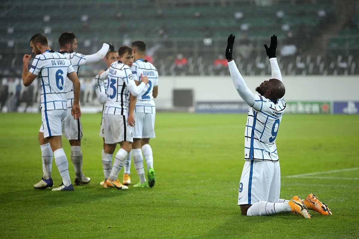 Lukaku gol Champions