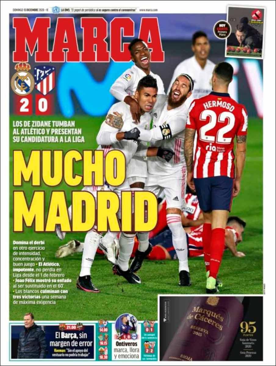 Portada Marca Mucho Madrid