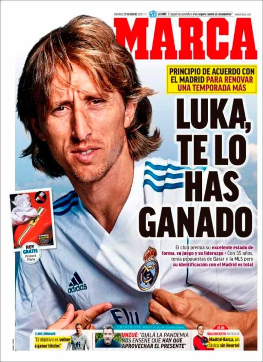 Portada Marca Modric renovación