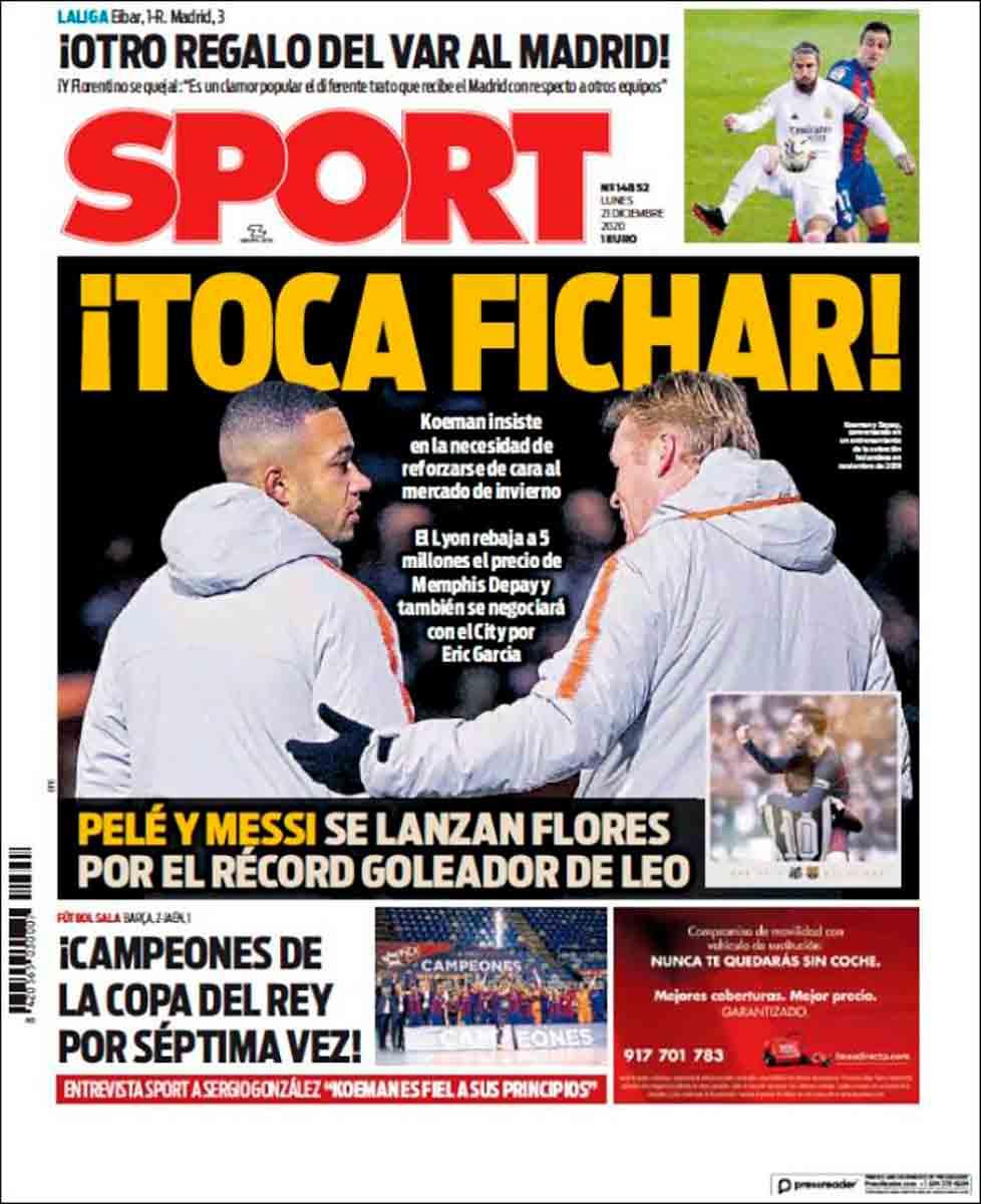 Portada Sport