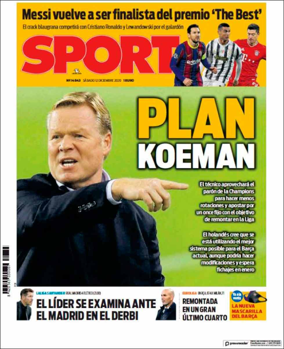 Portada Sport Plan Koeman