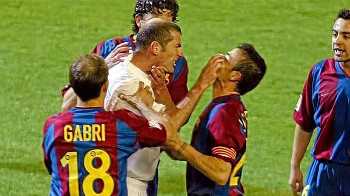 Zidane agresión Luis Enrique