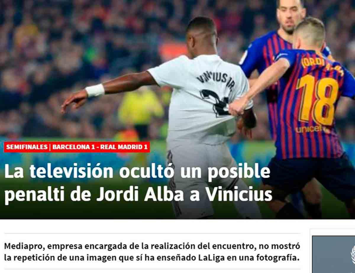 Penalti Vinicius