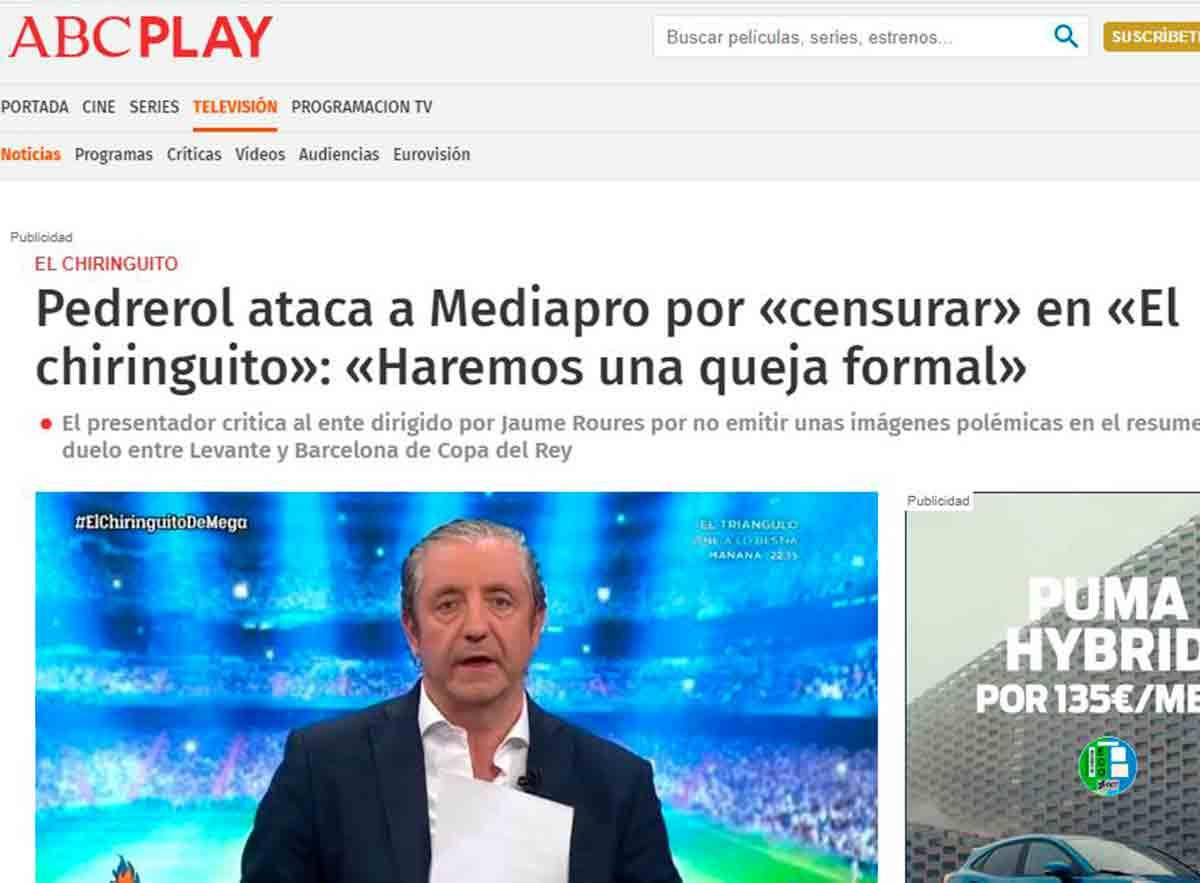 Pedrerol Mediapro