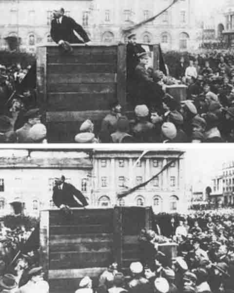 Stalin y Trotski
