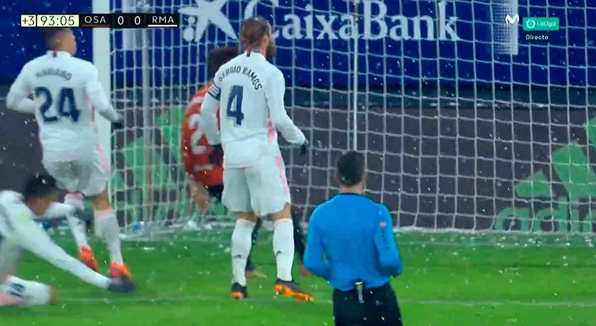 Penalti a Casemiro