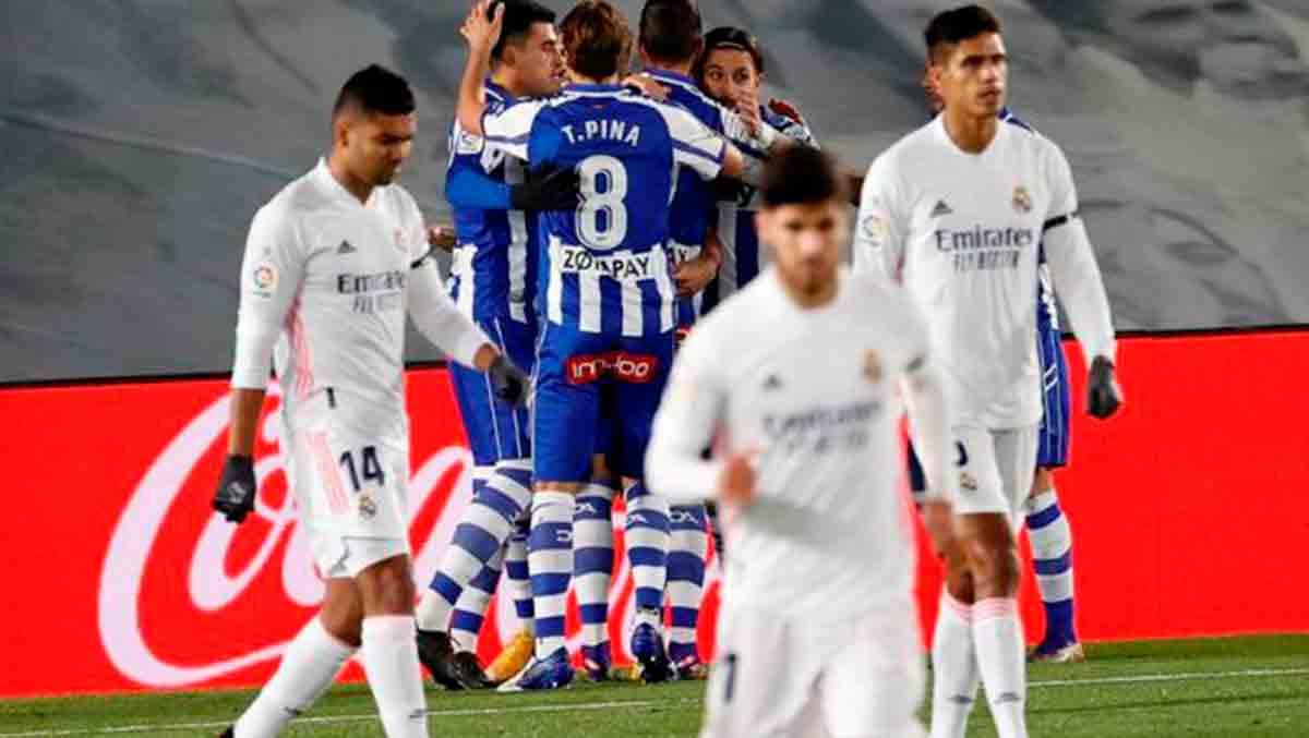 Clasificación Real Madrid