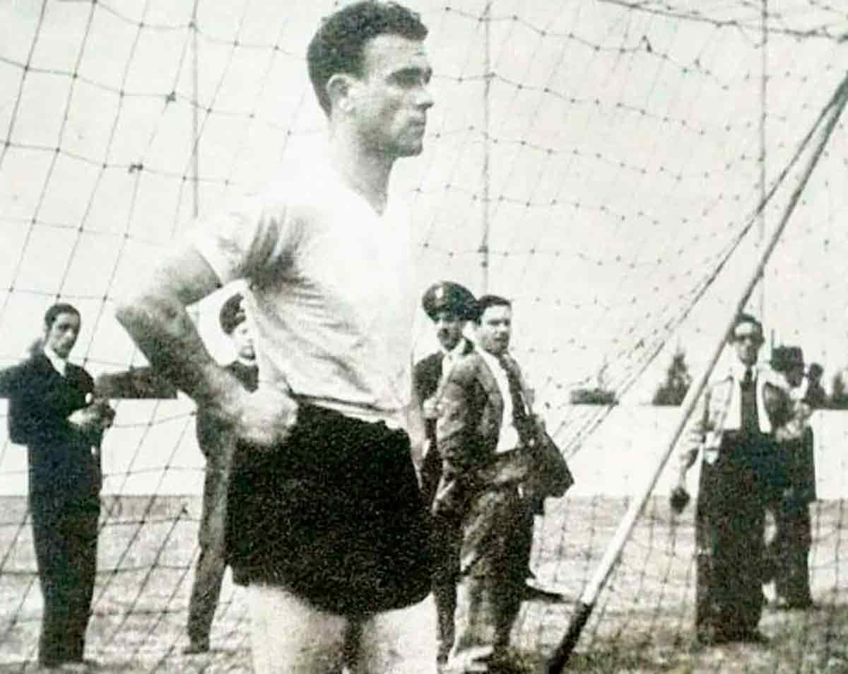 Alfredo Di Stéfano portero