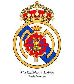 Escudo Peña Real Madrid Daimiel