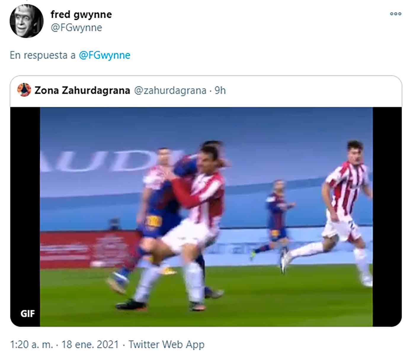 Expulsión Messi 2