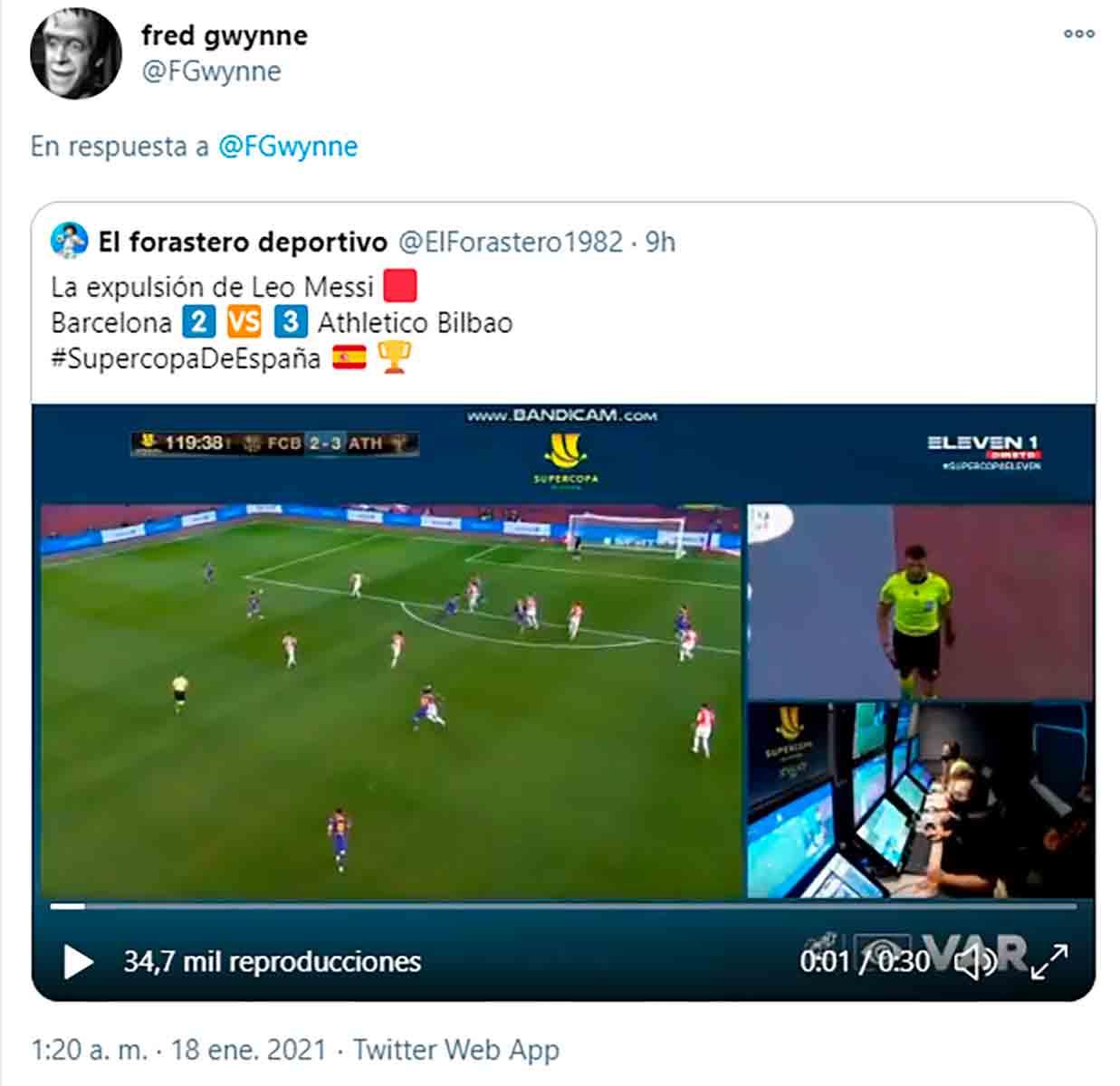 Expulsión Messi 3