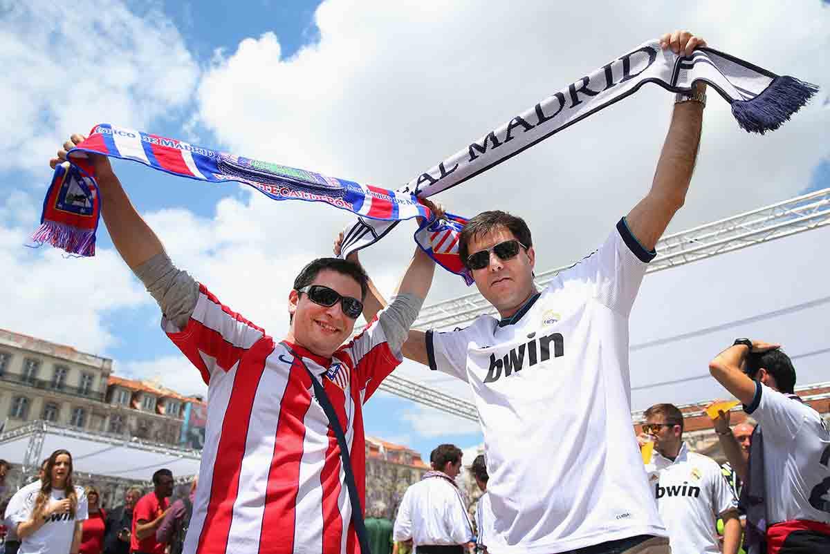 Hincha Real Madrid Atlético
