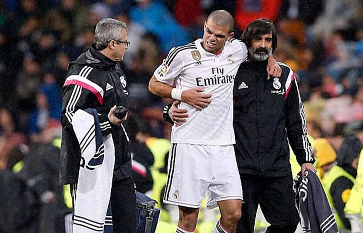 Pepe lesión