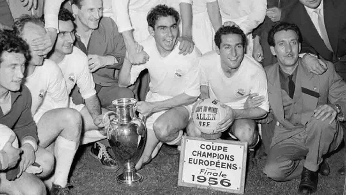 Real Madrid Primera Copa de Europa