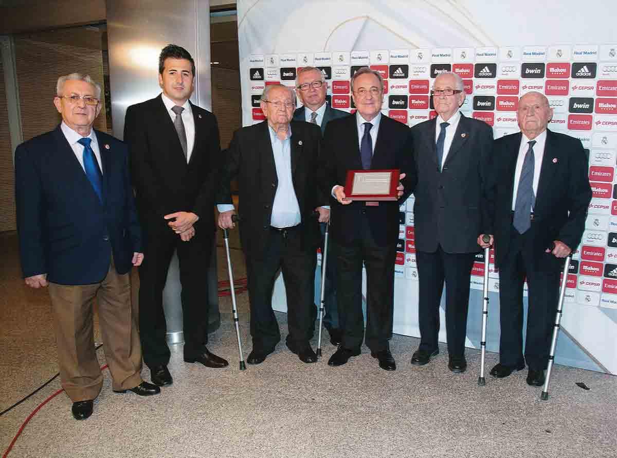 Florentino Pérez Peña Daimiel Real Madrid