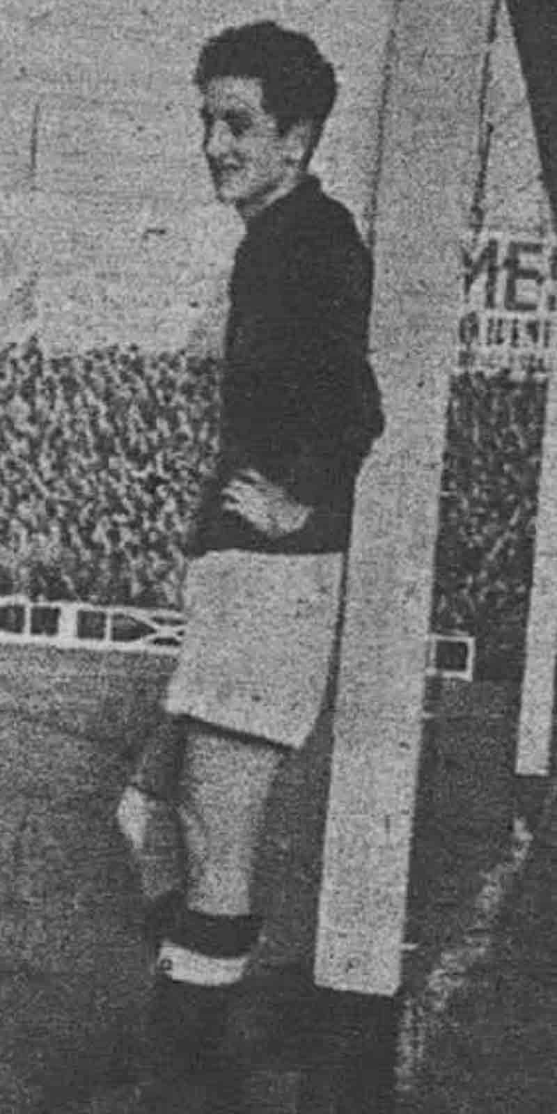 Sabino Barinaga portero