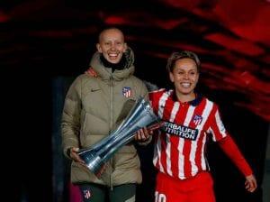 Gran gesto del Atleti con Virginia Torrecilla