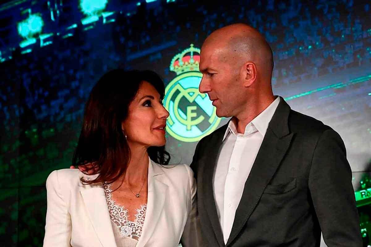 Zidane Véronique esposa
