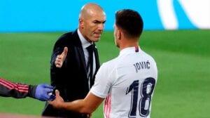 Zidane vs. Jovic: cumbre de lo inentendible
