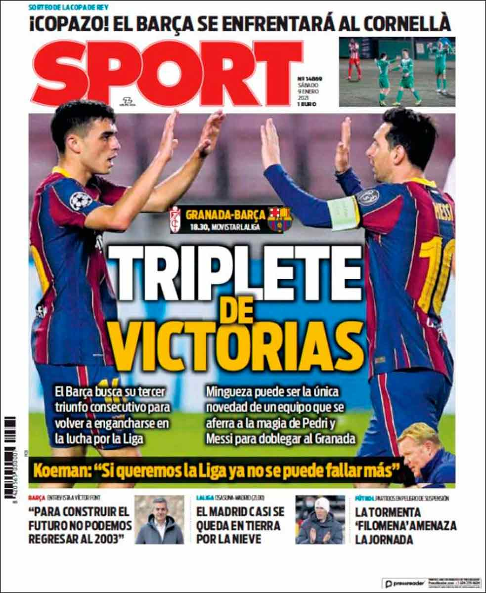 Portada Sport Triplete