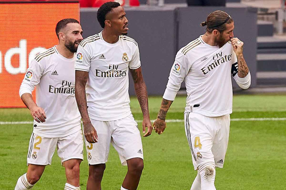 Real Madrid defensas