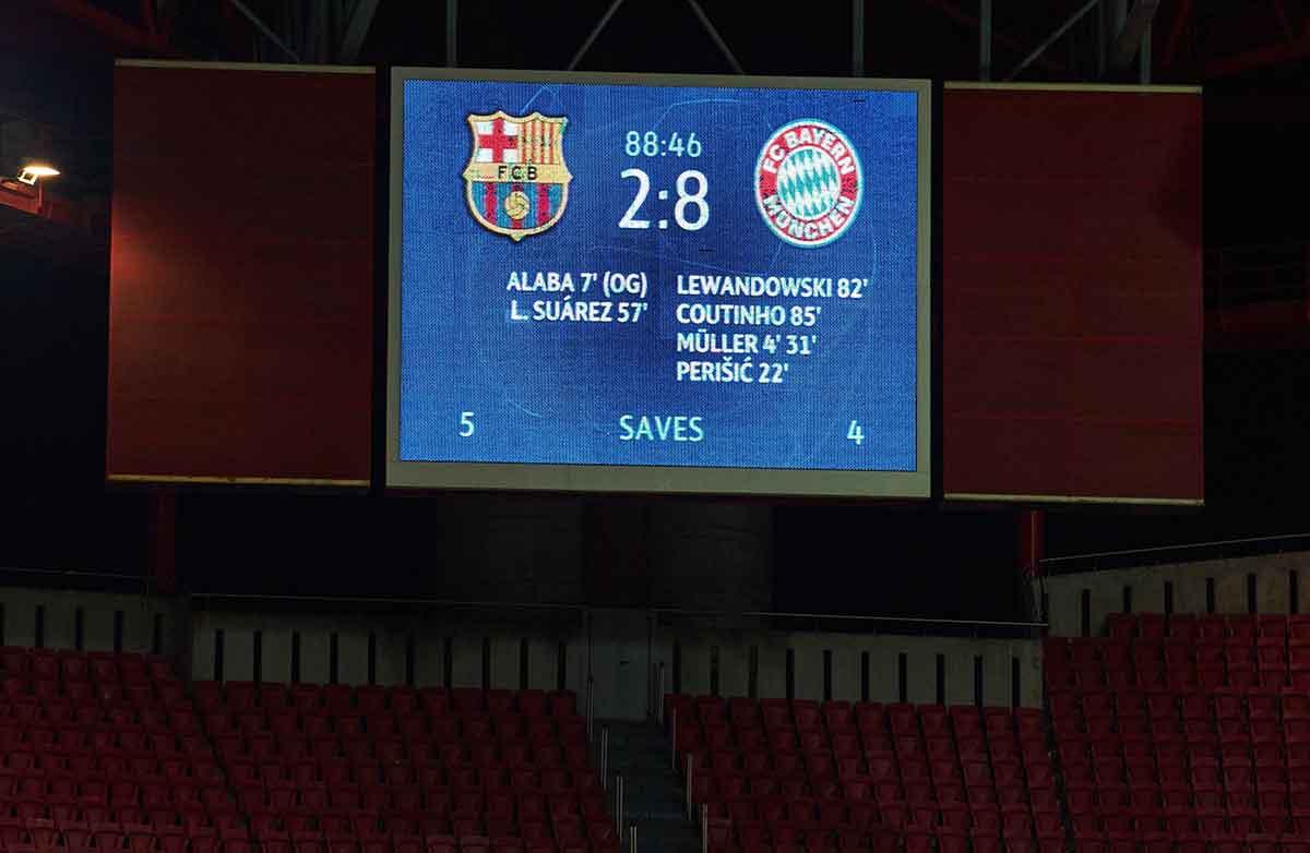 Barcelona Bayern 8-2