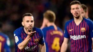 Alba y Lenglet son el Barcelona