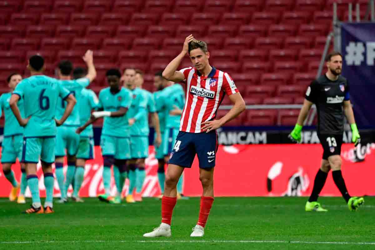 Derrota Atlético de Madrid