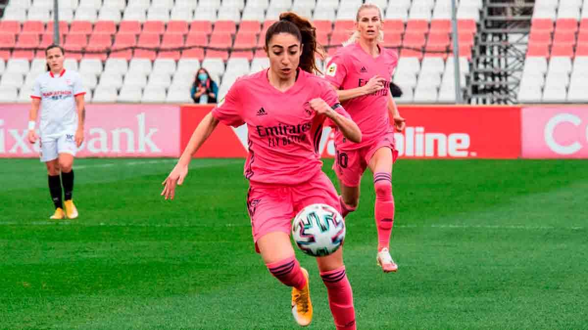 Real Madrid femenino Olga Cardona