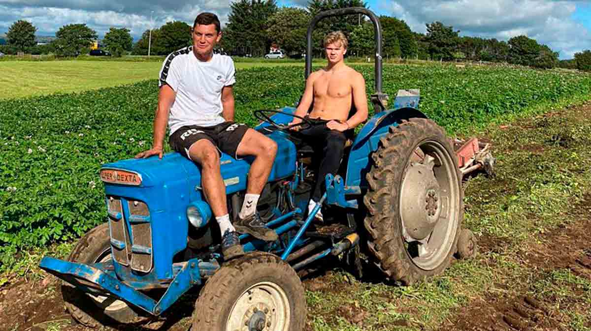 Haaland tractor