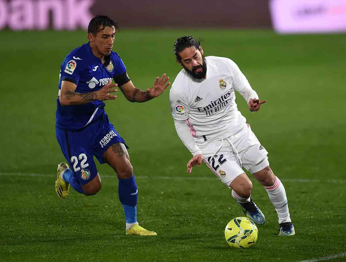 Isco Real Madrid Getafe
