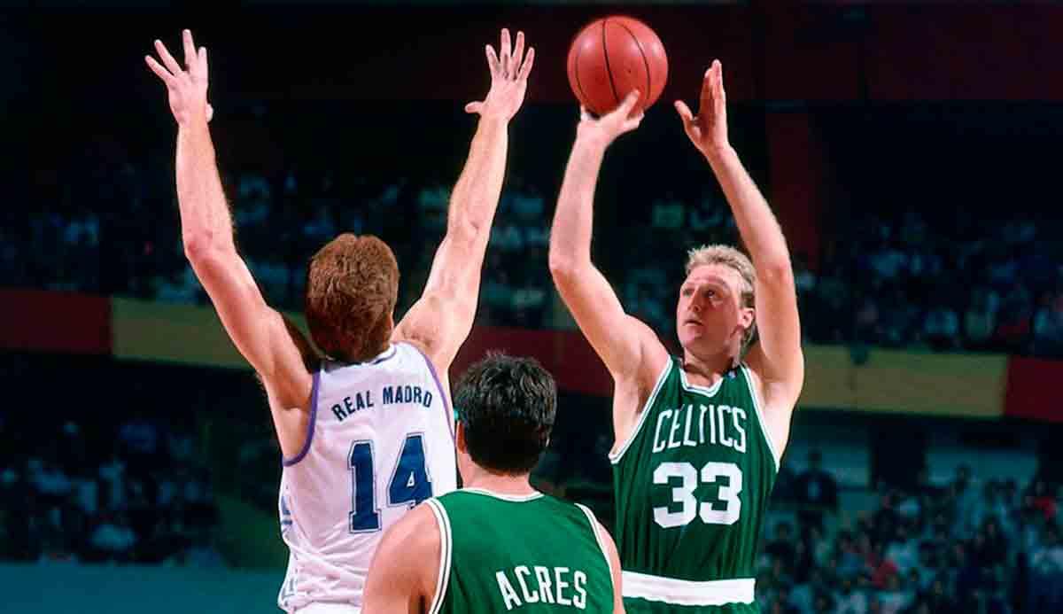 Real Madrid Boston Celtics 1988