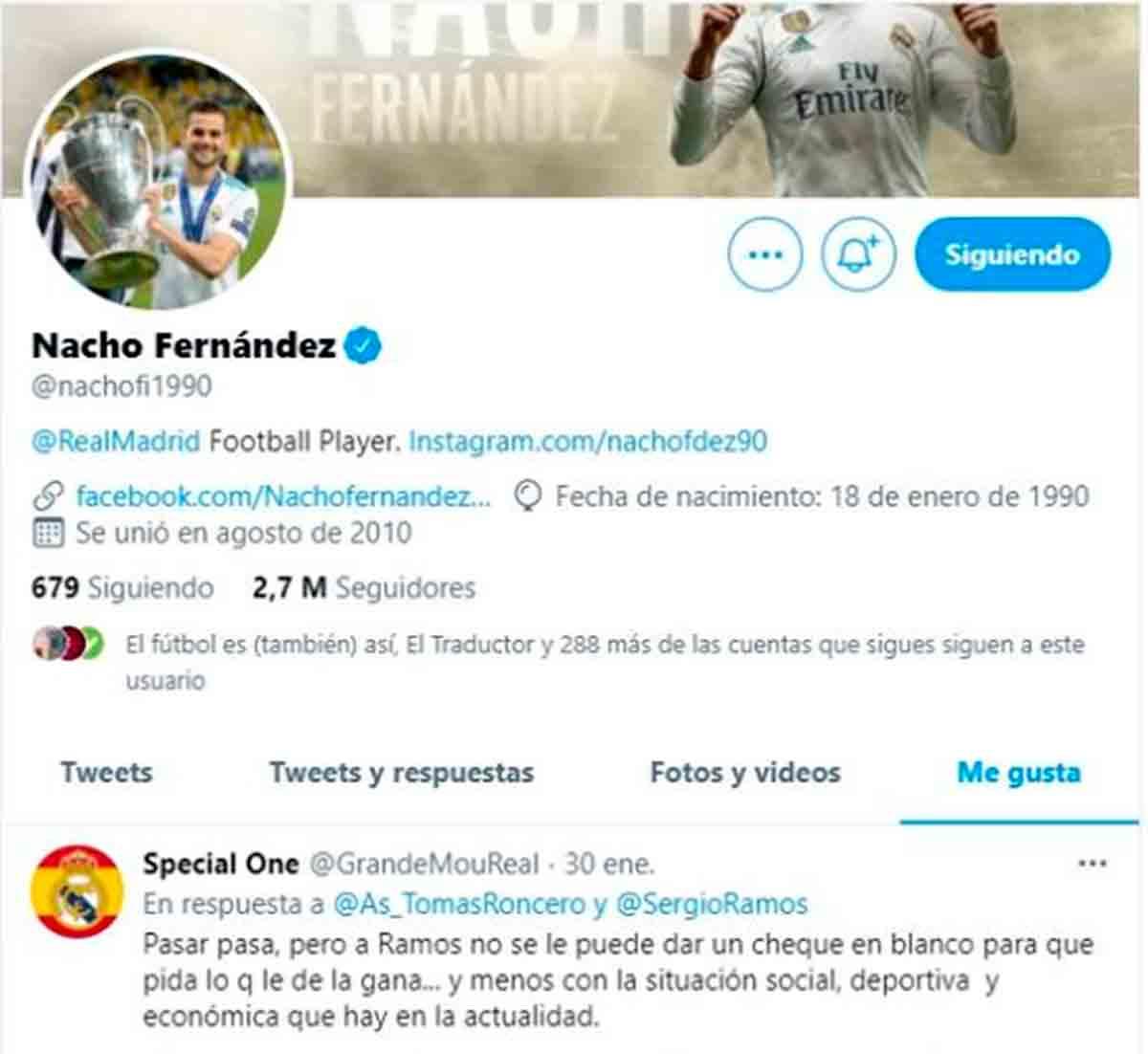 Like Nacho Renovación Ramos