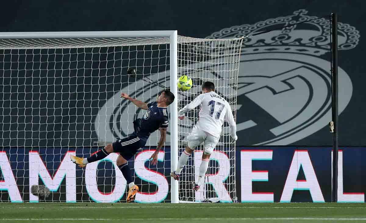 Lucas Vázquez gol
