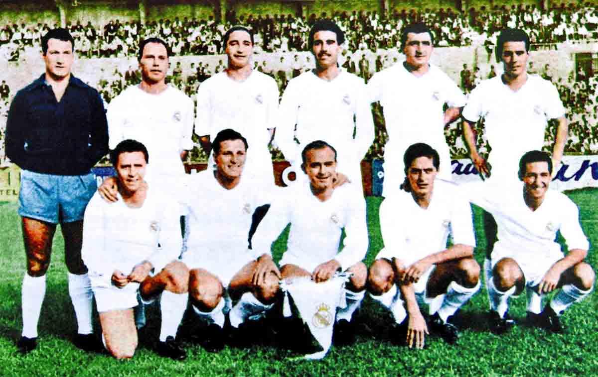 Real Madrid Servette 1955