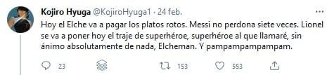 Tuit Messi