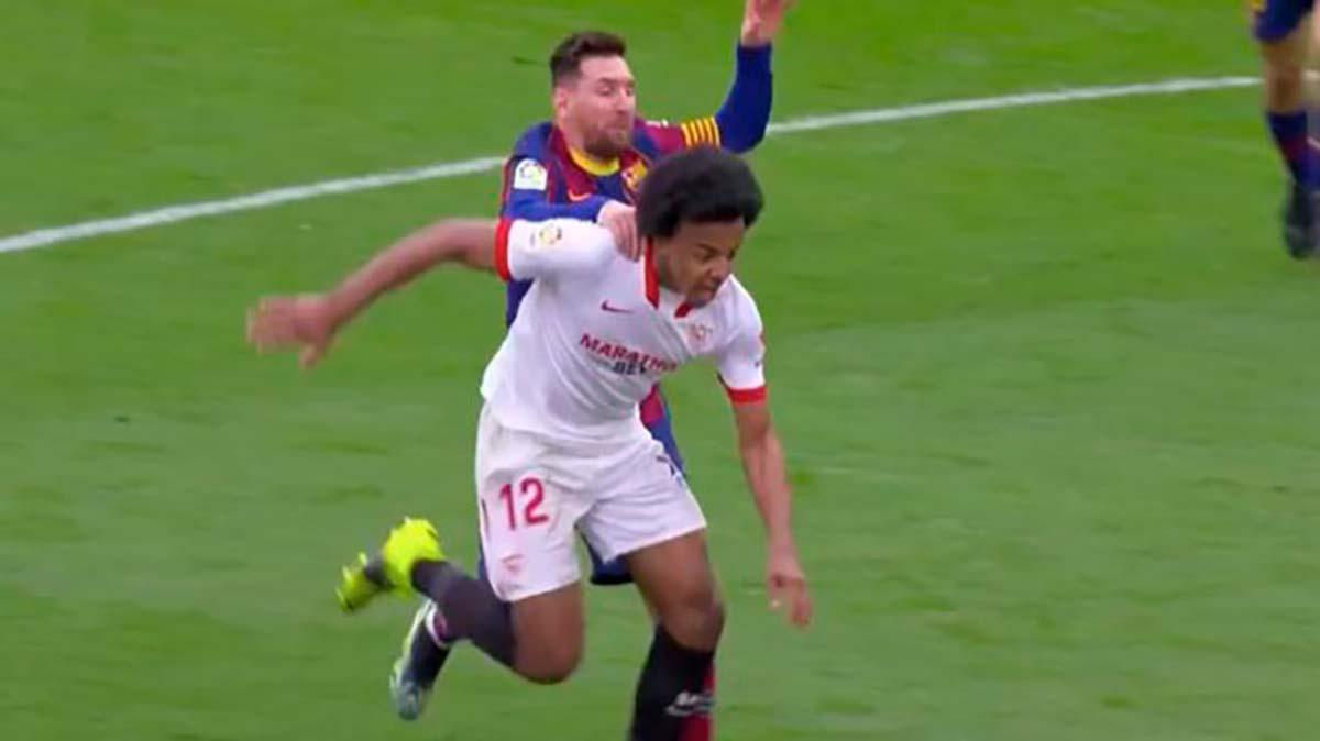 Messi no expulsión Sevilla