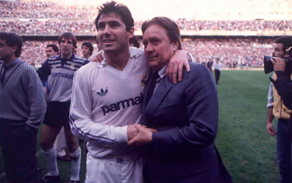Real Madrid Santillana Molowny