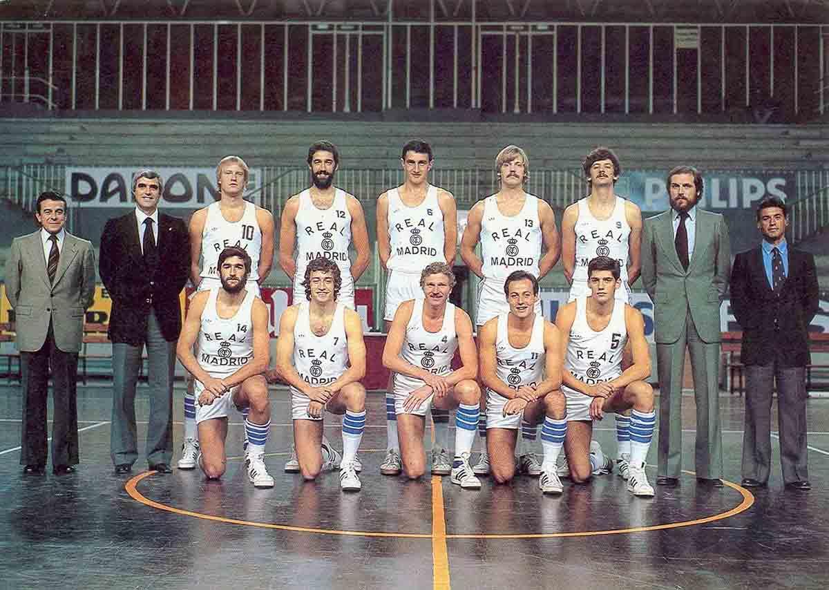 Real Madrid baloncesto 1980/1981