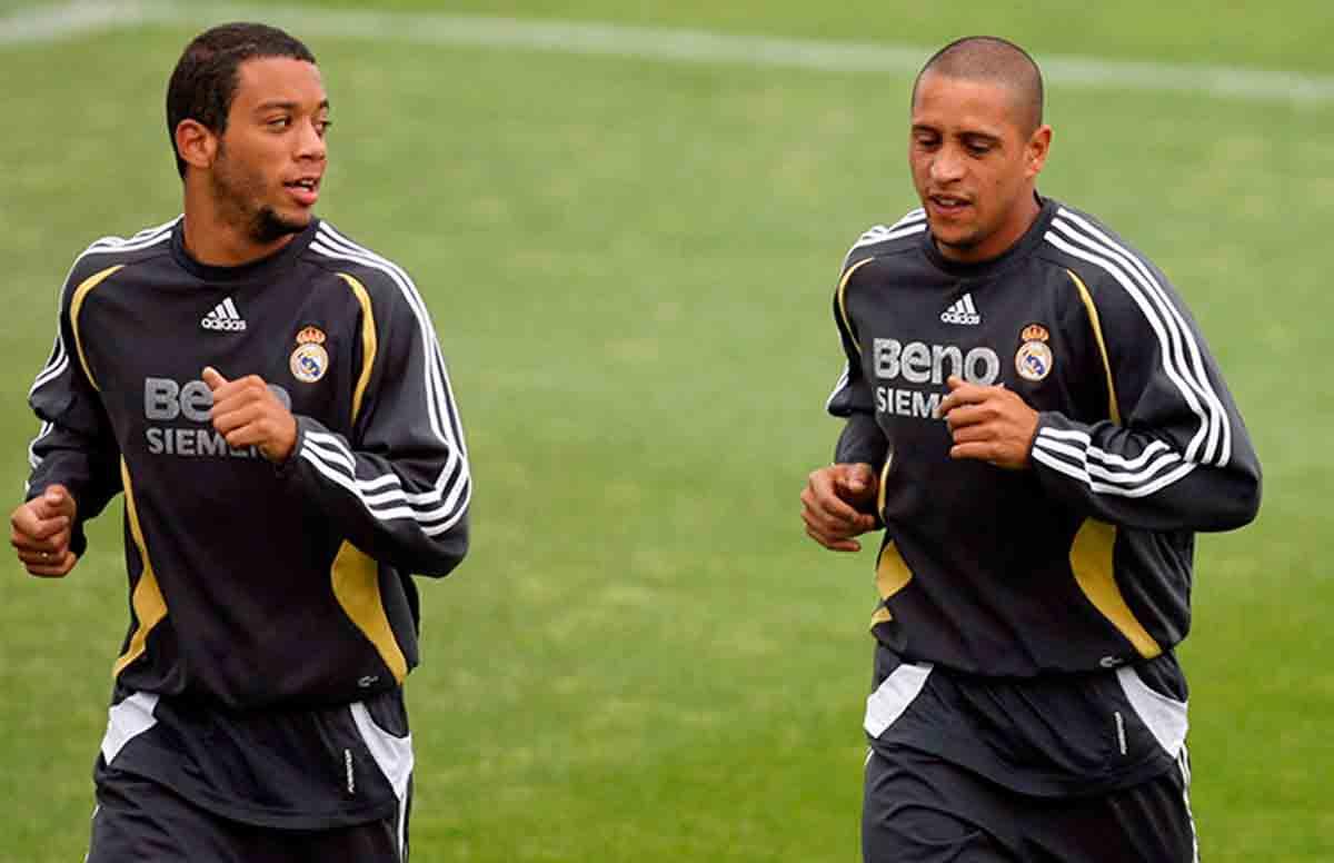 Marcelo y Roberto Carlos