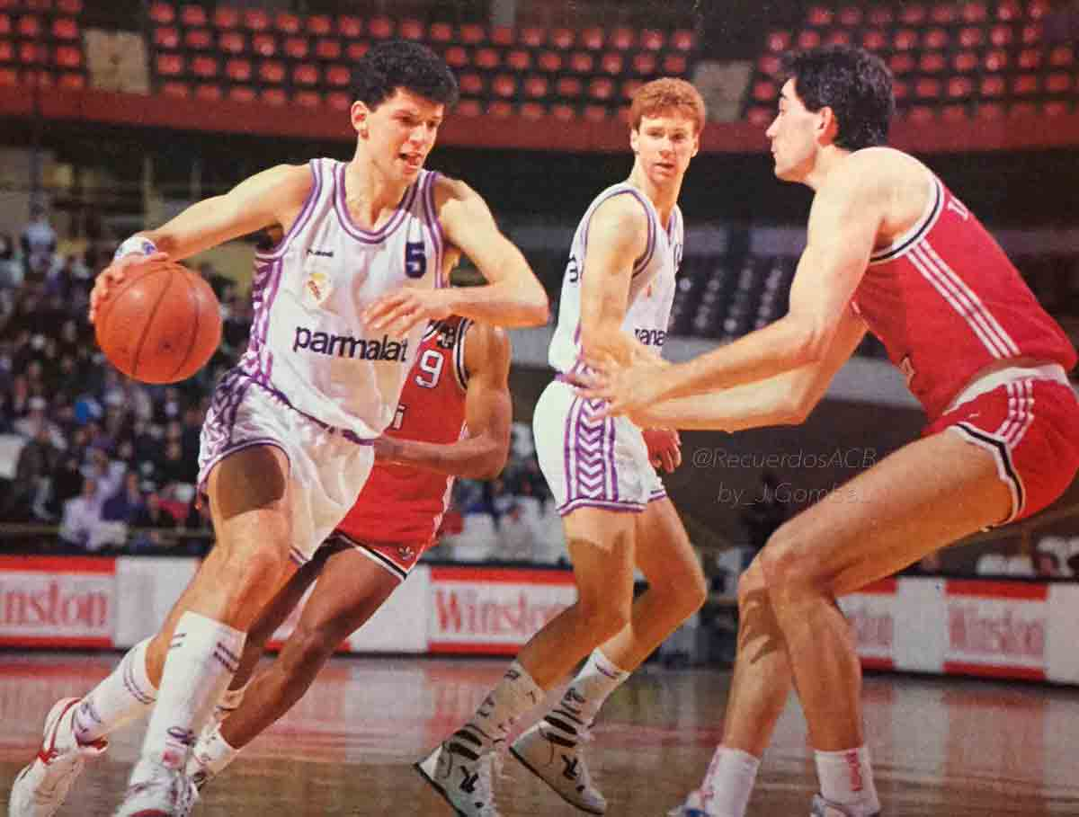 Real Madrid balonceto Petrovic Johnny Rogers
